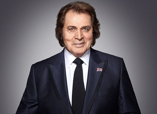 Engelbert Humperdinck Celebrity Endorsement